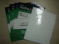 mailing label, mail label